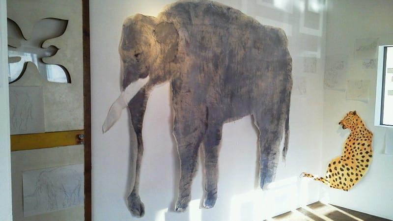 セルクル動物園壁面