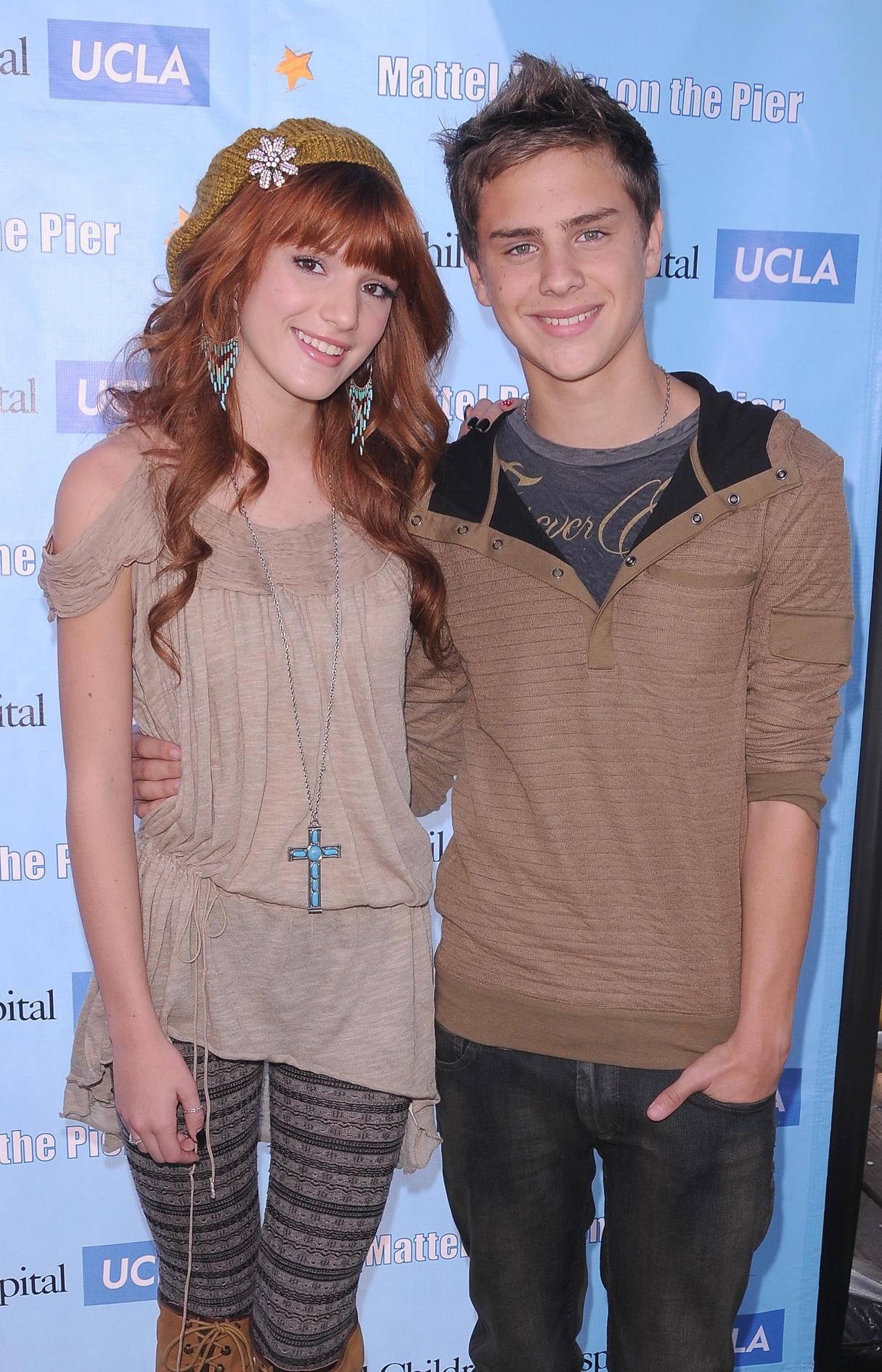 Bella Thorne And Garrett Backstrom Bella Thorne - ...