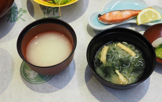 佳松亭の温泉粥