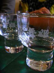グラスのロゴは「舞姫」でしたが…