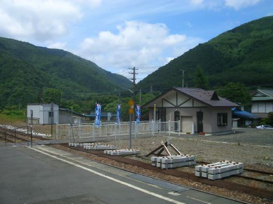 JR北上線沿線 和賀仙人駅 ...