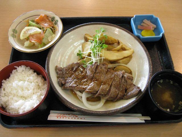 牛ステーキセット(1,500円)