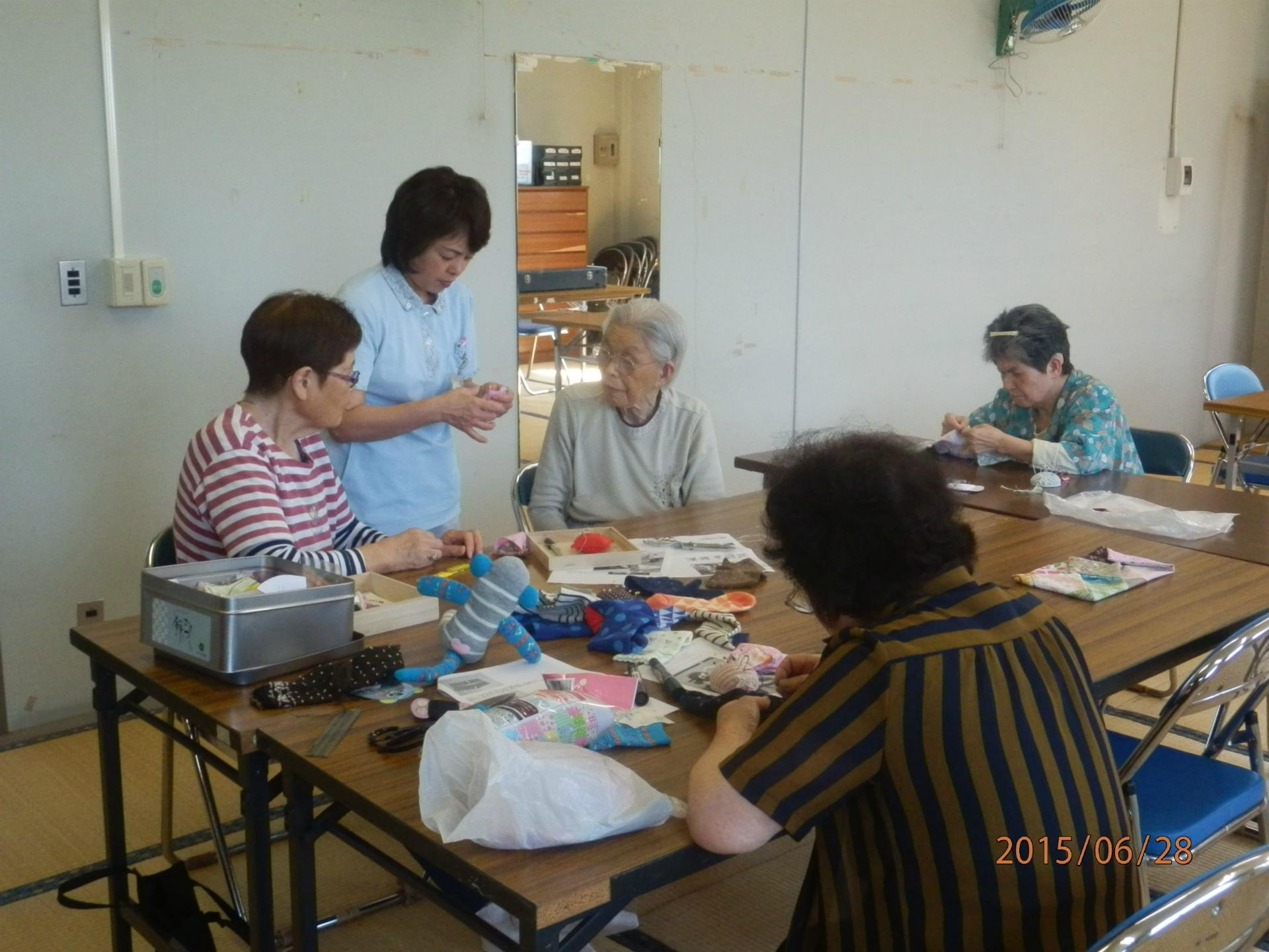 6月28日 手芸教室