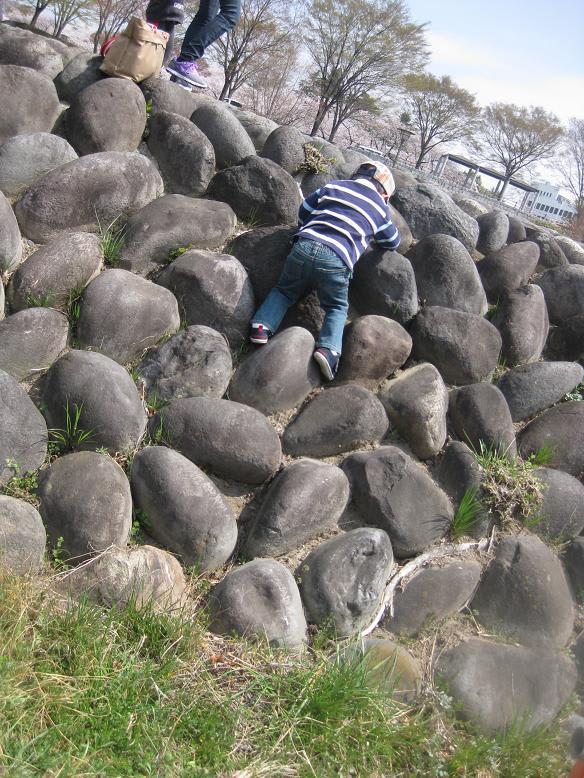 登るのぼる♪