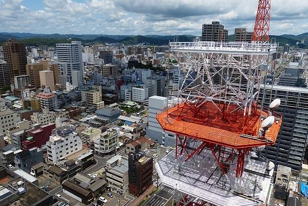 2015/6/20 クレド岡山20階からの眺め