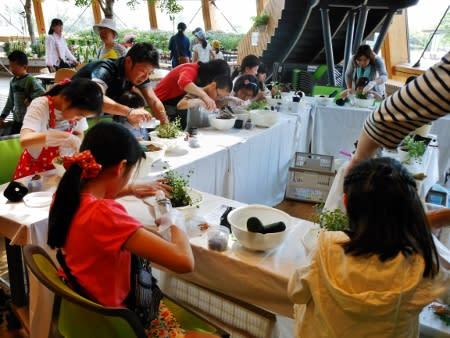 花育体験・動物が住むジャングルを作ろう!◇ 新潟市食育花育センター ◇ - kmmu Flower & Garden   ミュウ フラワー&ガーデン
