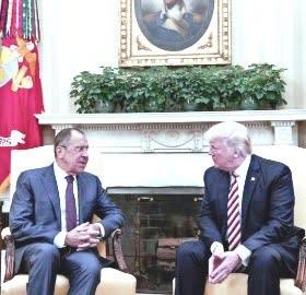 2017 05 16 米大統領、ロシアに機密漏洩か ホワイトハウスは否定 【岩淸水・保管記事】