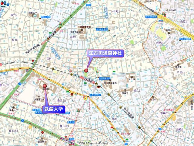 江古田駅周辺