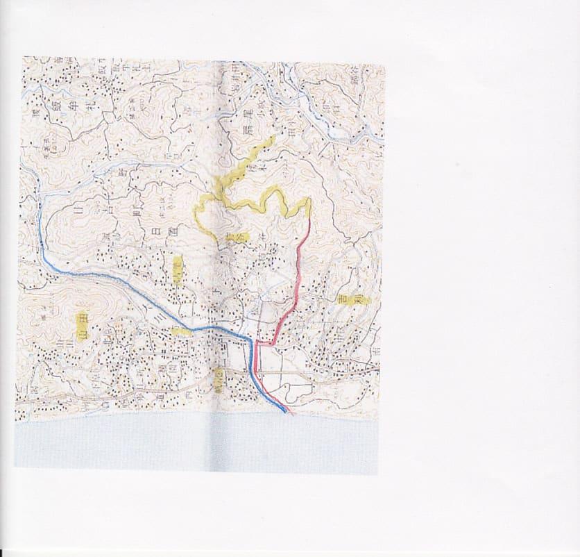 荘園の下地中分図 - 地図を ...