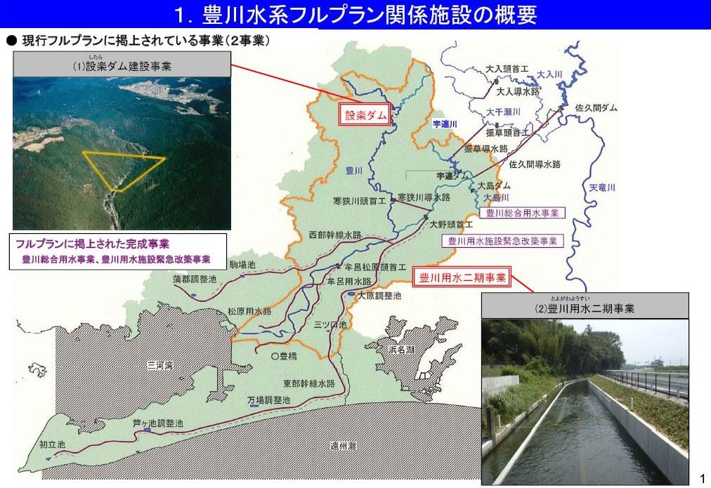 豊川用水二期事業の計画変更説明...
