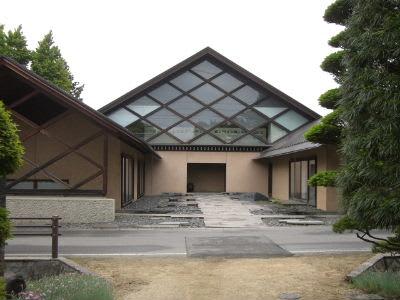 窪田空穂記念館 - 透明タペストリー