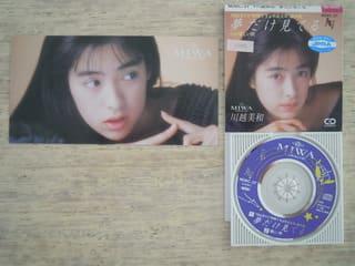 「夢だけ見てる」 川越美和 1989年 - 失われたメディア-8cmCDシングルの世界-
