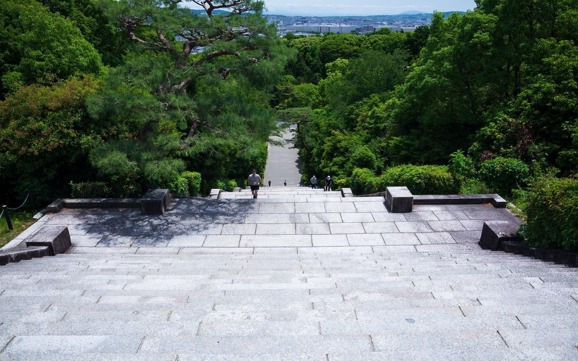 明治天皇 墓所