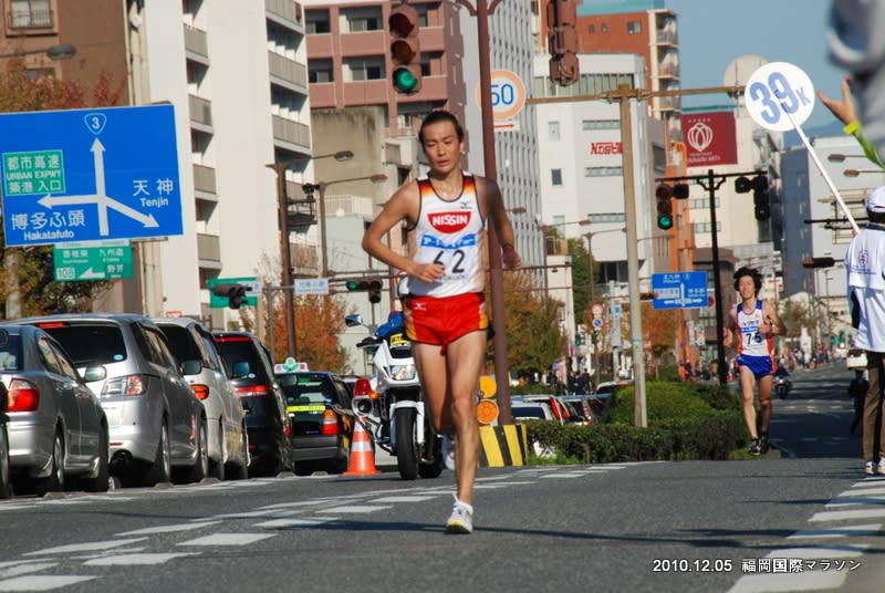 博多写景 福岡国際マラソン - 大...