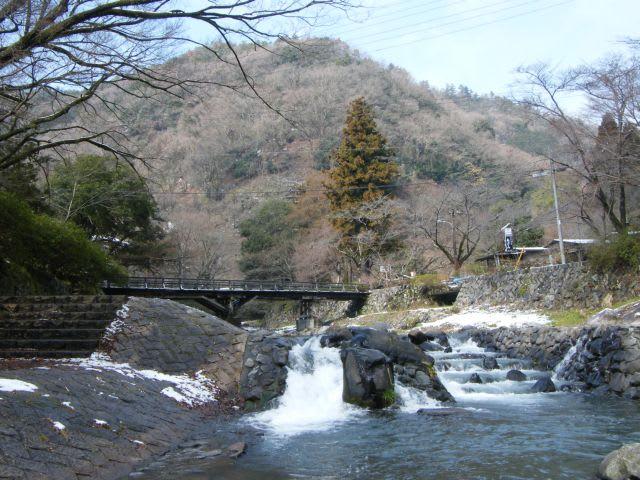 叡山電鉄 八瀬比叡山口駅付近