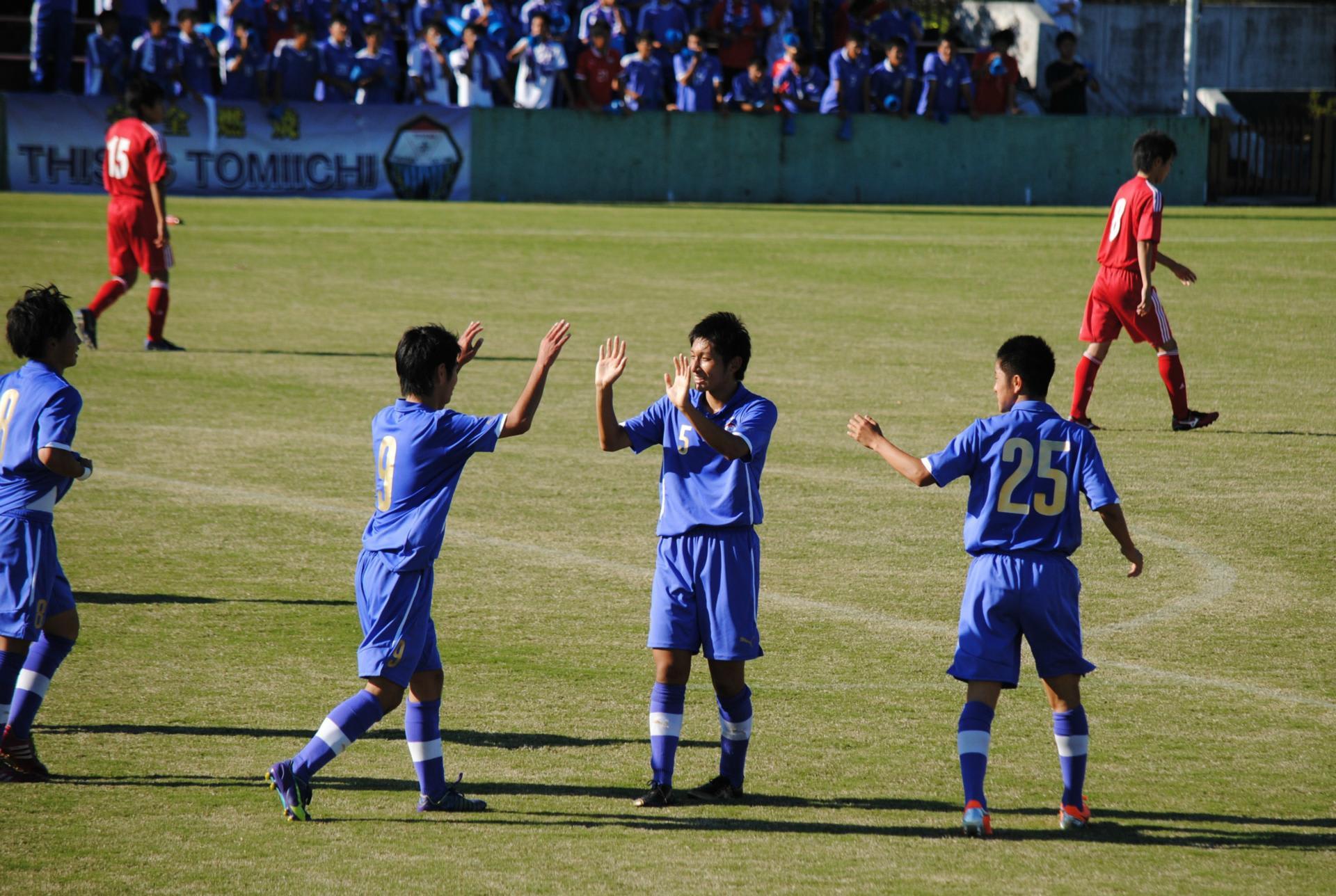 富山第一高校サッカー部 TOMIICHI FC 2014