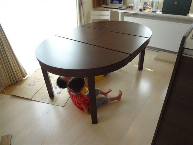 IKEAのダイニングテーブル☆ ...