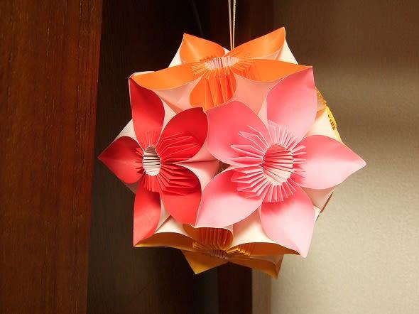 クリスマス 折り紙 折り紙 くす玉 花 : blog.goo.ne.jp