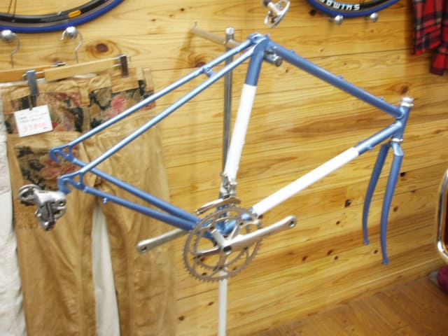 自転車の 自転車 フレーム 塗装 名古屋 : ... クラッシック自転車レストア