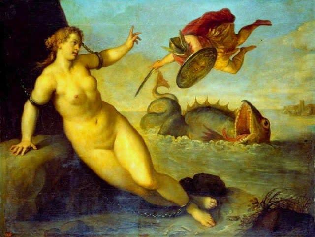 Andromeda e Perseo【わたしの里・作品】パルマ