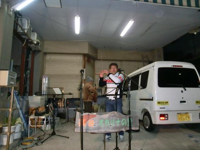 岡田さん(篠笛)