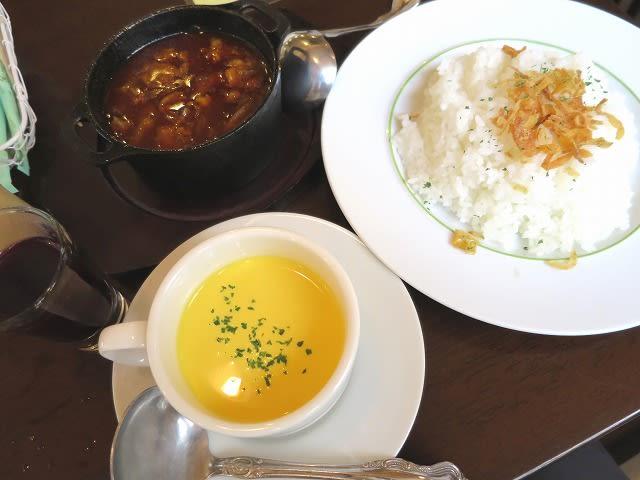 ダッチオーブンで炊いた山形牛のロゼッタカレー+スープセット