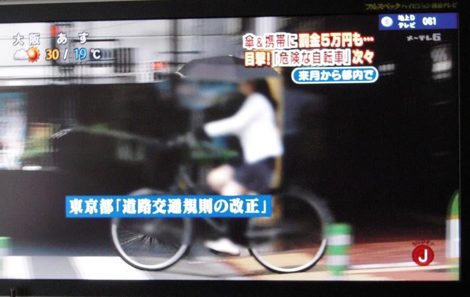 自転車の 自転車 交通規則 改正 : コメンテーター氏によるとこれ ...