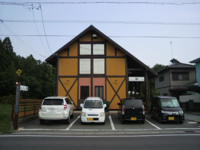 明和町Cafe楽のランチ食べて来ました(~~)