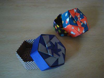 ハート 折り紙:折り紙六角箱折り方-blog.goo.ne.jp