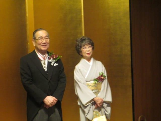 相川宗一前さいたま市長受章祝賀会 - スミダマンのほのぼの奮戦記