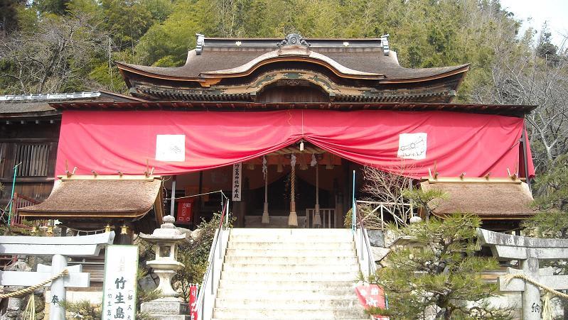 囲碁と国宝都久夫須麻神社(つく...