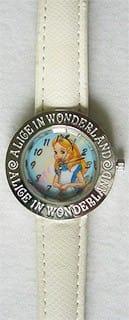 不思議の国のアリスの腕時計の写真