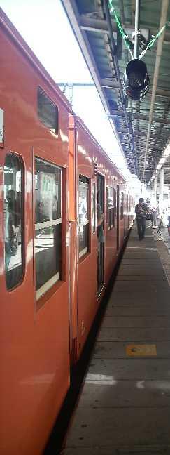 中央線201系@三鷹駅5番線