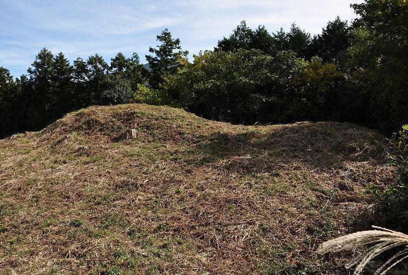 楯岡山3号墳墳丘
