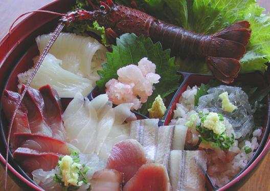 伊勢海老の海鮮丼