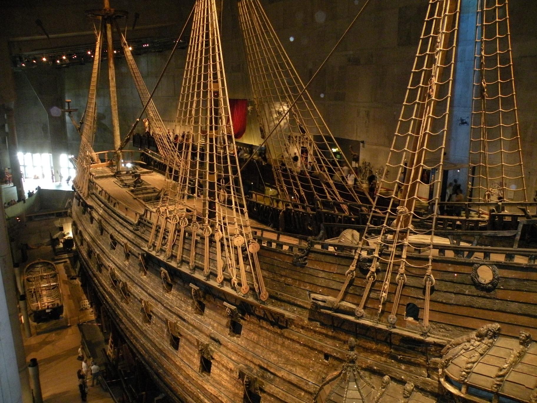 ヴァーサ号博物館 (ストックホルム) - 北欧スウェーデンの風