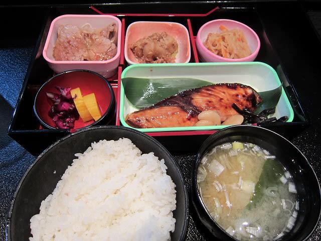 魚弁当(かんぱちの照り焼き)