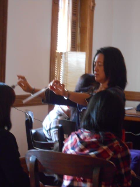 NY式部会、瞑想〜癒しの響き〜レポートです。