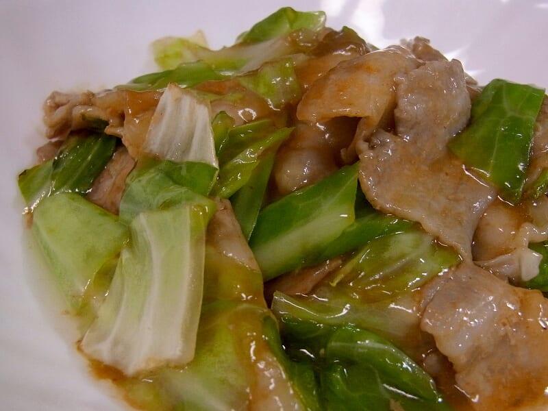 07月30日 豚肉とキャベツのうま煮