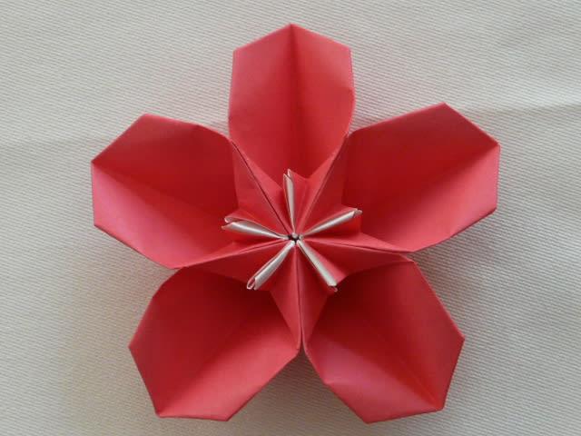 クリスマス 折り紙 折り紙 桜 : blog.goo.ne.jp