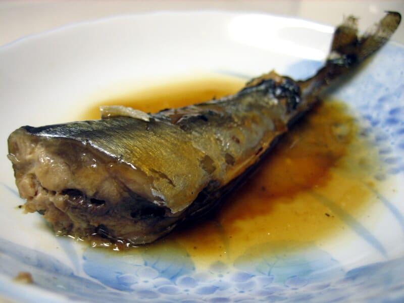 09月13日 サンマの甘辛煮
