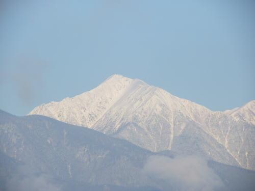 常念岳 2013/11/30