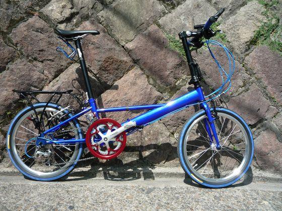 自転車の : dahon 自転車 改造 : DAHON インパルス改造 その22 ...