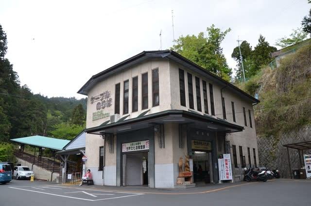 坂本ケーブル坂本駅駅舎