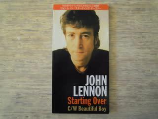 「スターティング・オーヴァー」 ジョン・レノン 1980年 - 失われたメディア-8cmCDシングルの世界-