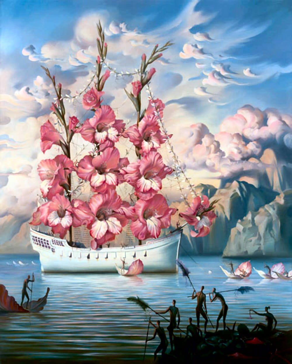 ARRIVAL OF THE FLOWER SHIP」です。