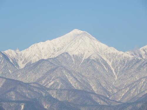 常念岳 2013/1/29