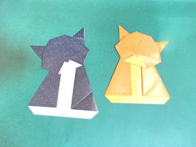 簡単 折り紙 折り紙 猫 簡単 : blog.goo.ne.jp