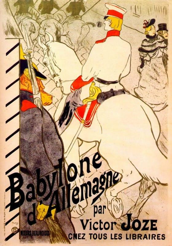 Lautrec_babylone_dallemagne_poster_