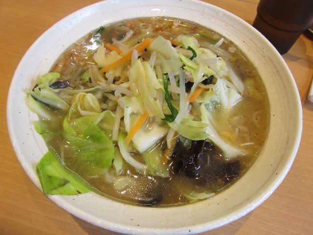 野菜ラーメン(醤油)
